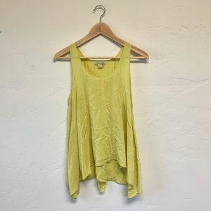 Twenty One Yellow Tank Top